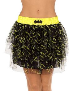 We have costume skirts! We have the ruffle skirt! We have the hula skirt! We have the salsa dancer skirt! Wear a skirt for Halloween! Complete the look! Batman And Batgirl, Batman T Shirt, Disney Half Marathon, Tutu Skirt Women, Halloween Costumes, Halloween Makeup, Boho Shorts, Dc Comics, Ballet Skirt