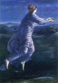 Night, 1870 ~ Edward Burne-Jones