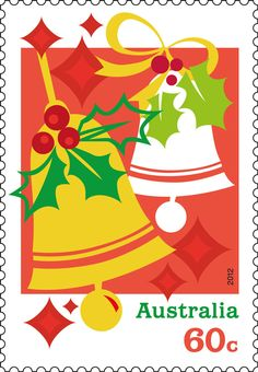 Jingle Bells  Australia Christmas postage stamp
