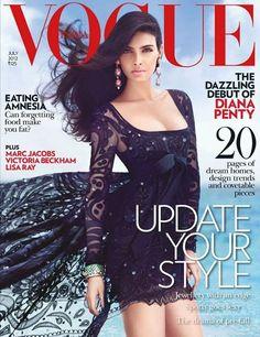 Vogue India July 2012:   Diana Penty
