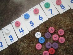 I have been saving our milk caps… for a while. I figured I could do something fun with them. Well, this past week we got to 25 milk caps, so I figured it was plenty for a fun project. I decided to make a milk cap math game. On the top of the milk caps, …