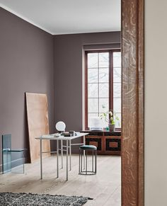 The Scandinavian Interior Colour Trends Of 2019 From Jotun Lady images ideas from Home Inteior Ideas Loft Interior, House Paint Interior, Interior Paint Colors, Interior Design, Dulux Paint Colours 2019, Interior Ideas, Dark Interiors, Colorful Interiors, Home Design