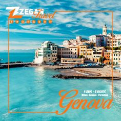 Milan- Genova - Portofino ( 4 Days 3 Nights )  *Airport Transfers  *Guided Daily Tours   Contact us now info@zegantravel.com  http://www.zegantravel.com/Milan-Genova-And-Portofino  #italy #italytour #italytravel #milan #milantour #milantravel #genova #genovatour #genovatravel #portofino #portofinotour #portofinotravel #europe #europetour #europetravel #tours #travel