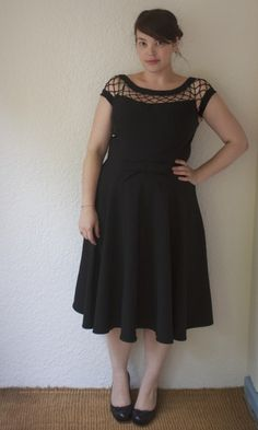 Bettie Page Clothing dress (With Only A Wink Dress - Modcloth)