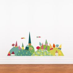 Journey in the Countryside Wall Decal Wall Decal at AllPosters.com