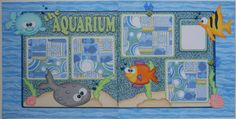 """""""The Aquarium"""" created using the Sea Babies Collection"""
