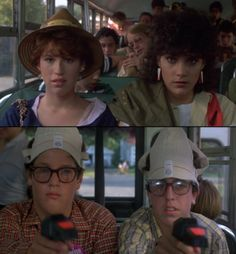 Sixteen Candles directed by John Hughes