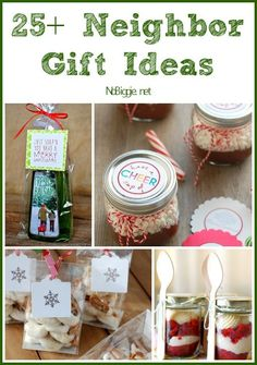 25+ Neighbor Gift Ideas via NoBiggie.net