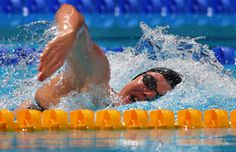 Julia Hassler of Liechtenstein competes during the Swimming Women's 200m Freestyle preliminaries heat two on day eleven of the 15th FINA World Championships at Palau Sant Jordi on July 30, 2013 in Barcelona, Spain.