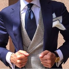"And this one. | Men Are Showing Off Their Killer Looks With Instagram ""Suitfies"""