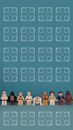 Star Wars Lego Characters IPhone 5 Wallpaper And Background