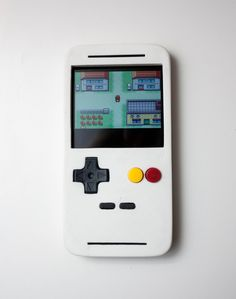 This guy made an amazing gameboy style case for his phone.