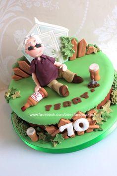Gardening cake - Cake by Zoe's Fancy Cakes