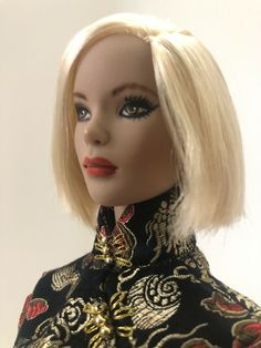 Puppen Spielzeug OOAK Tonner Repaint 16 Suzette Doll By Laurie Leigh!!!