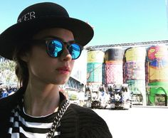 Inspire-se nos modelos de óculos de sol da atriz Thaila Ayala