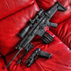 Military Weapons, Weapons Guns, Guns And Ammo, Rifles, Ar Rifle, Battle Rifle, Fire Powers, Cool Guns, Assault Rifle