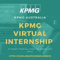 KPMG Australia Virtual Internship Program  Students from all over the world can apply  Benefits: Free Internship Build Real Skills Self-Paced Get Practical Skills and Experience Gain Read Credit  #KPMG #KPMGInternship #Internship #ScholarshipsCOrner Internship Program, Data Analytics, All Over The World, Gain, Self, Students, How To Apply, Australia, Reading