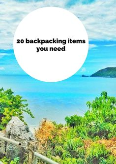 Backpacking Essentials for South East Asia. Find here a packing list of useful, practical and essential items for backpacking Thailand and South East Asia