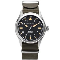 JACK MASON AVIATOR WATCH | HUCKBERRY SALE + FREE INTL. SHIPPING