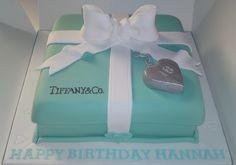 18th Tiffany Birthday Cake | Flickr - Photo Sharing!