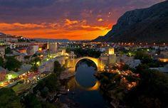 Η γέφυρα Στάρι Μοστ, Βοσνία-Ερζεγοβίνη