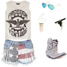 July 4th outfit inspiration✩