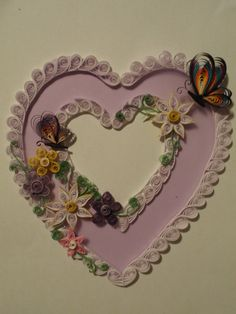 Coeur  Quilling