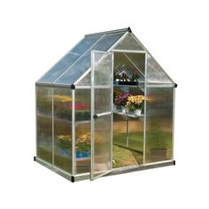 Palram mythos 6 ft x 4 ft silver aluminum polycarbonate greenhouse 701636 rona bc greenhouse builders ltd offers quality glass polycarbonate greenhouses see our greenhouse models from custom to commercial