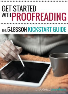 Is the perfect job for stay-at-home moms a myth? Do you want to make REAL money and have the flexibility to take care of your kids? This FREE kickstart guide will help you decide if a freelance proofreading business is a good fit for you and your family.