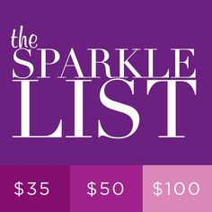 lia sophia - The Sparkle List - Holiday Gift Guide 2012