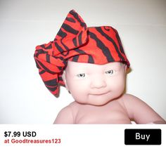 Buy 3 Get 1 Free Mom Baby Sets Women Children Bow Bands Sash Wrap Scarf Bandana Headband Headscarf Headwraps Baby First Birthdays Gifts Top Knot Fabric Cloth Showers  Goodtreasures123 Red Black Animal Print