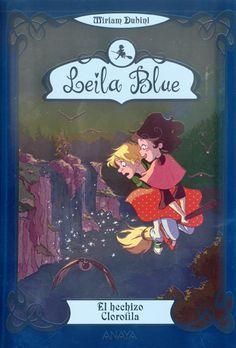 """Tercer título de la serie de Leila Blue, para niños de 9 a 12 años, de la escritora italiana Miriam Dubini. En """"El hechizo Clorofila"""" (N…"""