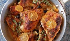 Roasted chicken with vegetables 1 - lemon is really strong - leave off if not a huge lemon fan