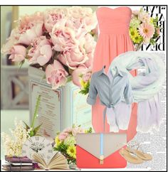 """flower summer"" by julinovia on Polyvore"