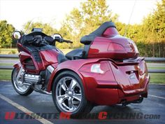 Motor Trike Releases Razor IRS Conversion for Honda Gold Wing