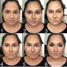 Samer Khouzami. Professional contouring, ohow to contour, contour like a boss, face shaping tutorial, jawline,
