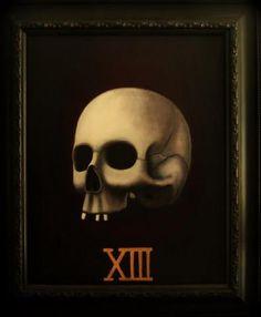 Death Card Tarot   BILLY BARNES  FeralFactoryPublishing.com