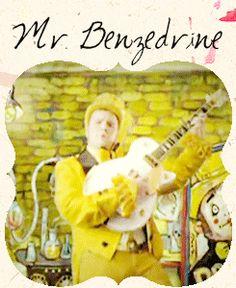 Mr. Benzedrine