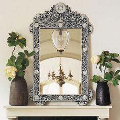 Венецианское зеркало в интерьере, венецианское зеркало своими руками