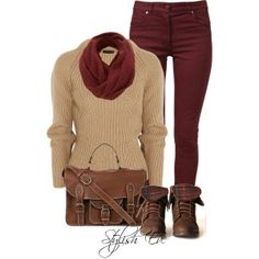 All purchasing details are available!   For More: http://www.stylisheve.com/red-winter-2013-outfits-for-women-by-stylish-eve/