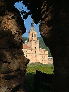 Bonita imagen de San Millán de la Cogolla, Patrimonio de la Humanidad, La Rioja