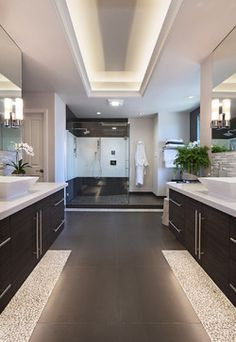 Long Beach Master Bath - contemporary - Bathroom - Orange County - International Custom Designs