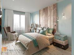 Фото спальня из проекта «Интерьер квартиры в скандинавском стиле с элементами лофта, ЖК «Skandi Klabb» »