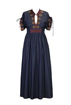 eShakti Women's Floral embellished chambray denim maxi dress, http://www.amazon.com/dp/B00N5LOAMA/ref=cm_sw_r_pi_awdm_QcFsub1F6RQDR