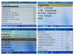 multi-languages selection and LED diagnostic status indication http://www.autointhebox.com/launch-creader-vi-plus_c82 #obd