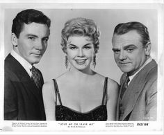 """Cameron Mitchell, Doris Day & James Cagney in """"Love Me Or Leave Me"""""""