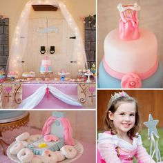 Blue or Pink? A Sweet Sleeping Beauty Birthday Party by #FancifulEvents featured on #lilsugar