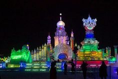 The Harbin Snow & Ice Festival, China