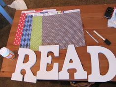 Lesson Plan SOS: Classroom Decor for the reading area..