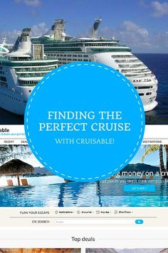 Finding the Perfect Cruise on Cruiseable